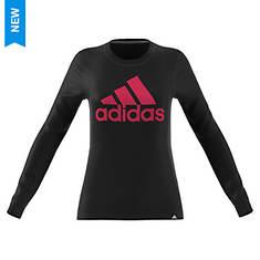 adidas Women's Badge of Sport Classic LS Tee