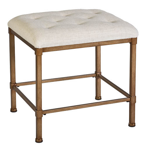 Katherine Backless Vanity Stool