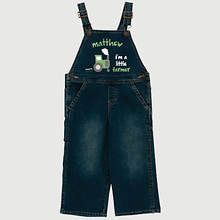 Personalized Little Farmer Overalls