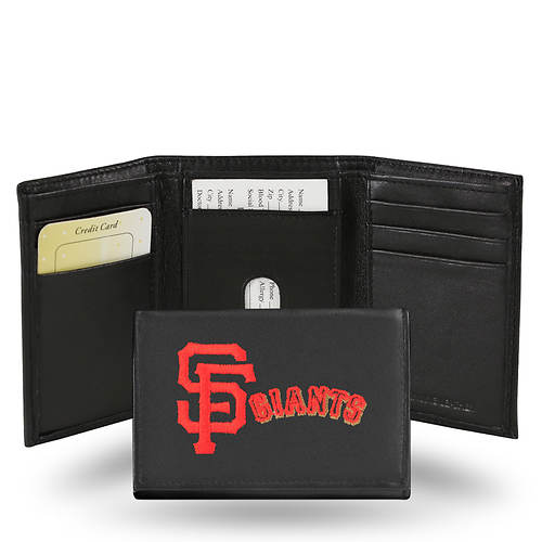 MLB Embroidered Tri-Fold Wallet