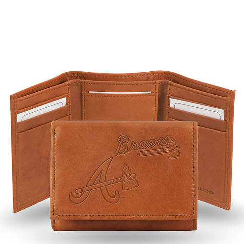 MLB Embossed Tri-Fold Wallet