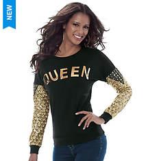 Queen Shimmer Sweatshirt