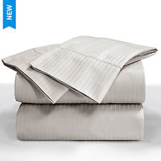 Elle 1000 Thread Count Pinstripe Sheet Set