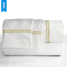 Elle 1200 Thread Count Embroidered Sheet Set
