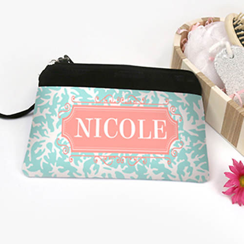 Personalized Ocean Cosmetic Bag