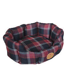 Pet Life Water-Resistant Round Dog Bed
