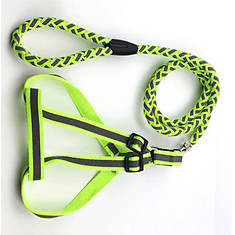 Pet Life Reflective 2-in-1 Dog Leash and Harness