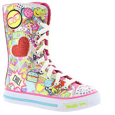 Skechers Twinkle Toes: Shuffles-Chillin Dayz (Girls' Toddler-Youth)