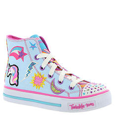 Skechers Twinkle Toes: Shuffles-10776L (Girls' Toddler-Youth)