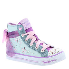 Skechers Twinkle Toes: Shuffles-10777L (Girls' Toddler-Youth)