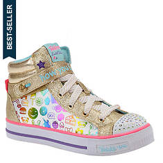 Skechers Twinkle Toes: Shuffles-10828L (Girls' Toddler-Youth)