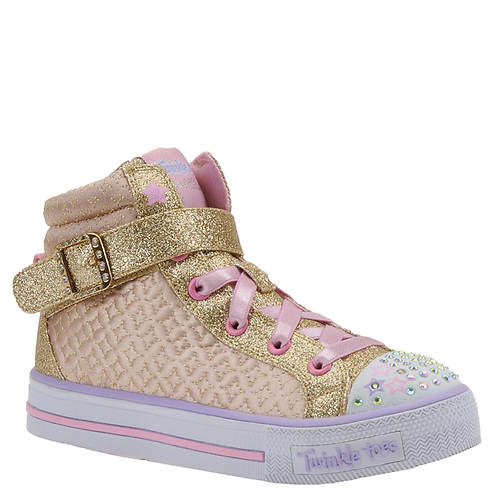 Skechers Twinkle Toes: Shuffles-Twinkle Charm (Girls' Toddler-Youth)