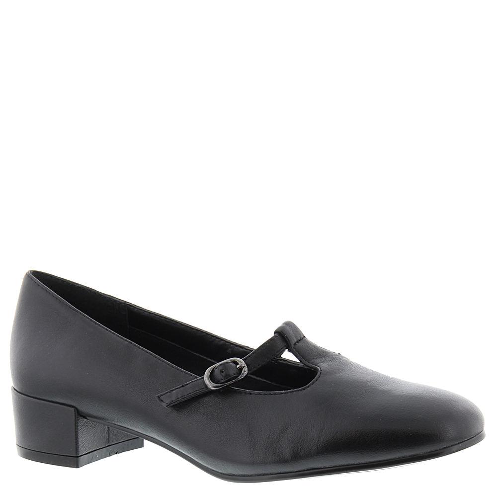 Vintage Style Shoes, Vintage Inspired Shoes David Tate Emma Womens Black Pump 7.5 N $109.95 AT vintagedancer.com