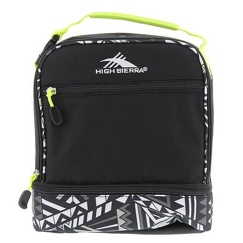 High Sierra Men's Double Compartment Lunch Bag