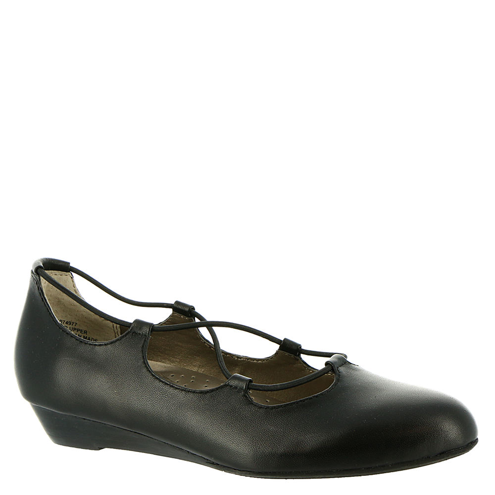1920s Style Shoes, Heels, Boots ARRAY Echo Womens Black Slip On 6.5 M $54.99 AT vintagedancer.com