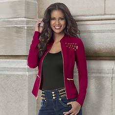 Cutout Jacket