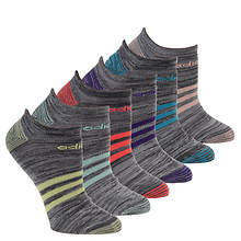 adidas Women's Superlite Stripe 6-PK No Show
