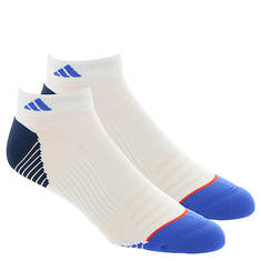 adidas Men's Superlite Speed Mesh 2-PK Low Socks