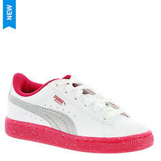 PUMA Basket Iced Glitter 2 PS (Girls' Toddler-Youth)