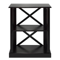 Casual Home Bay View 3-Shelf Bookcase