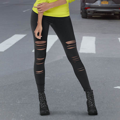 Distressed Legging