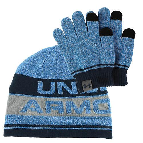 Under Armour Boys' Beanie Glove Combo 2.0
