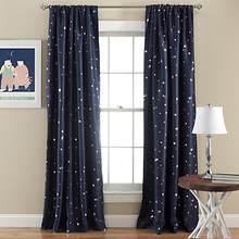 Lush Decor - Star Blackout Window Curtains