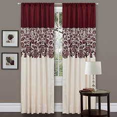 Lush Decor - Estate Garden Window Curtain