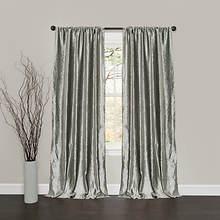 Lush Decor - Velvet Dream Window Curtains