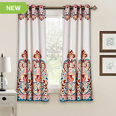 Lush Decor - Clara Room-Darkening Window Curtains