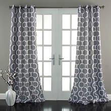 Lush Decor - Chainlink Window Curtains