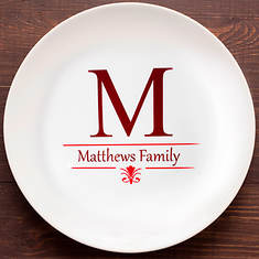 Personalized Create Your Own Gift Year Round Plate