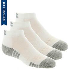 Under Armour Boys' 3-Pack Heatgear Tech Lo Cut Socks