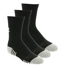 Under Armour Boys' 3-Pack Heatgear Tech Crew Socks