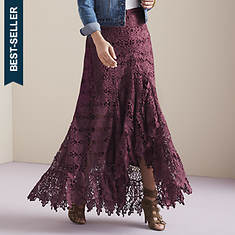 Luxe in Lace Maxi Skirt