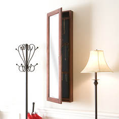 Wall-Mount Jewelry Mirror