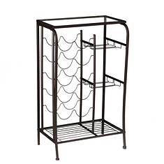 Marta Wine Rack Storage Table