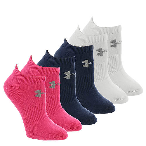 Under Armour Charged Cotton 2.0 No Show (women's)