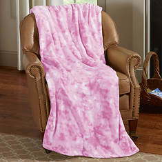 Watercolor Microplush Blanket