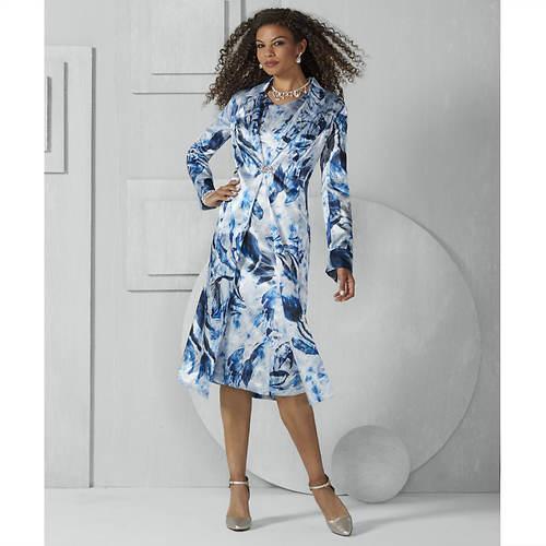 French Cuff Jacket Dress
