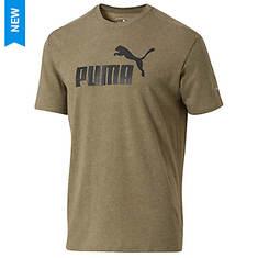 Puma Men's No 1 Logo Perf Graphic Tee