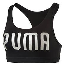 Puma Women's Pwrshape Forever Cat Logo Bra