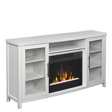 Classic Flame Rossville Fireplace/TV Stand