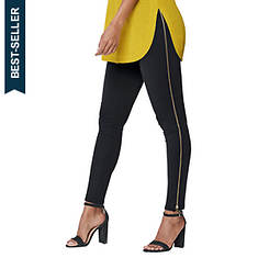 Side Zip Ponte Legging