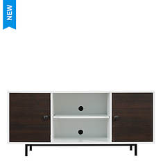 Bello Ridgeville Two-Tone TV Stand
