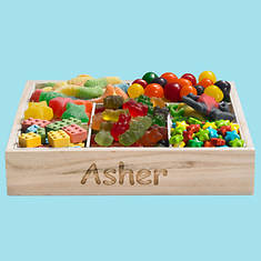 Personalized Kaleidoscope Candy Tray