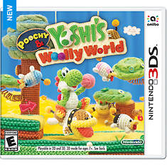 Nintendo 3DS Poochy & Yoshi's Woolly World