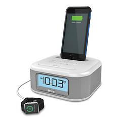iHome iPL23 Stereo FM Clock Radio with Lightning Dock