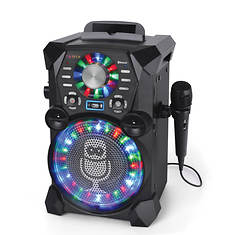 Singing Machine HD Karaoke System with Disco Lights