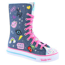 Skechers Twinkle Toes Shuffles-Patch Play (Girls' Toddler-Youth)